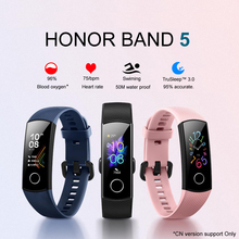 Huawei Honor Band 5 Smart Armband Band 4 0.95Inch Tracker Smart Oled Zwemmen Waterdichte Bluetooth Fitness Tracker Touch Screen