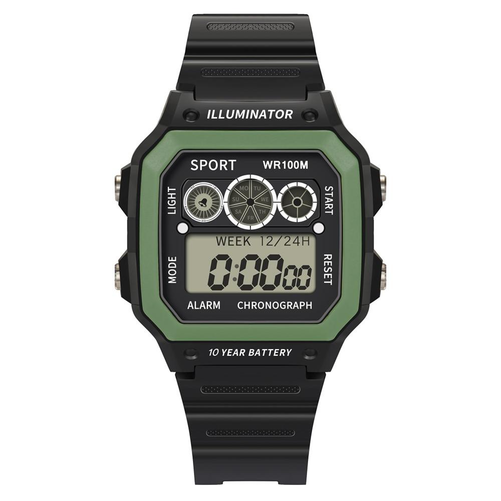 Luxury Men Analog Digital Military Sport LED Waterproof Wrist Watch