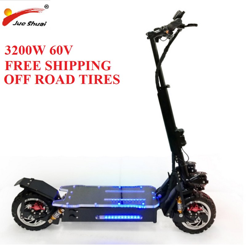 Electric <font><b>Scooter</b></font> Adult 60V <font><b>3200W</b></font> <font><b>Scooter</b></font> Patinete Electrico Adulto e <font><b>scooter</b></font> Electrico adulto <font><b>Scooter</b></font> electric e bike escooters image