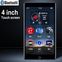 RUIZU H1 מלא מגע מסך MP4 נגן Bluetooth 8GB וידאו נגן עם מובנה רמקול תמיכת רדיו FM הקלטת מוסיקה ספר אלקטרוני