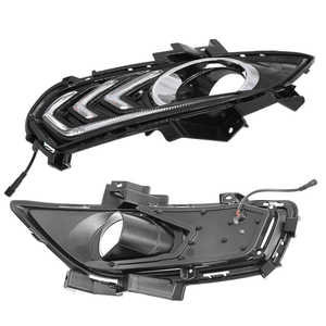 Image 5 - 2PCS Daytime Running Light For Ford Mondeo Fusion 2013 2014 2015 2016 Car DRL 12V LED With Turn Yellow Signal Relay Accessories