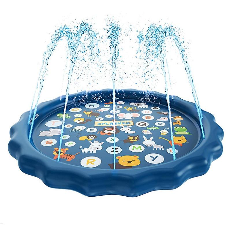 68 inch round water pad children