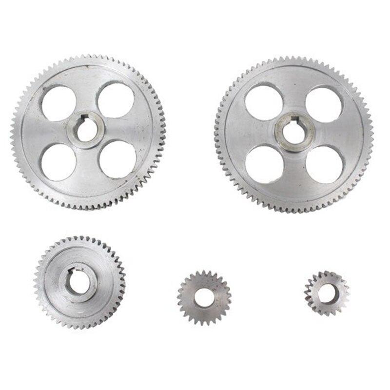 18 pièces/ensemble CJ0618 engrenages en métal Mini tour engrenage Machine-outil de découpe en métal - 5