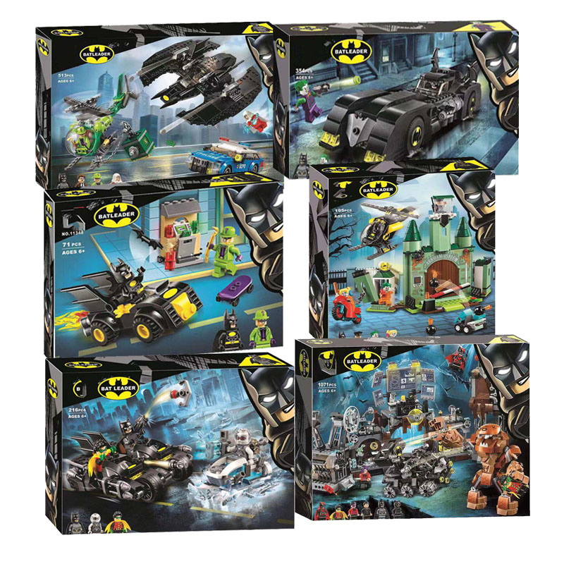 In Stock Super Heroes DC Batcaves Clayface Invasion Compatible Legoingly Batman 76122 Building Blocks For Kids Christmas Gift