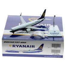 1: ali da collezione JC dell'aereo della lega 200 XX2496 modello del Reg # EI-DCL del getto degli aerei pressofuso 737-800 con il supporto