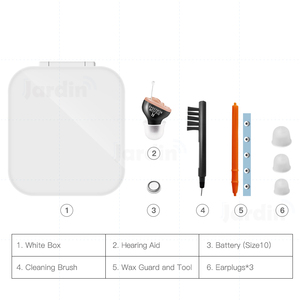 Image 5 - B01 Small Inner Ear Invisible Best Mini Device Hearing Aids Adjustable Hearing Sound Amplifier Dropshipping