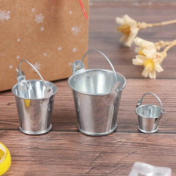 1 X Simulation Cute Water Bucket 1/12 1/6 Fairy Home Kitchen Pretnd Play Game Doll house Miniature New 1