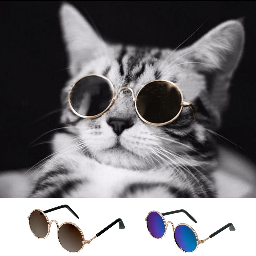 1PCS Lovely Pet Cat Glasses Protection Dog Glasses Pet Products for Small Dogs Kitty Cat Eye-wear Dog Sunglasses Pet Supplies