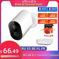 IMILAB-cámara IP EC2, inalámbrica, wifi, 1080P, HD, cámara de seguridad exterior, IP66, visión nocturna, vigilancia