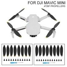 SUNNYLIFE 4 pary składane śmigła 4726F śmigła o niskim poziomie hałasu dla DJI Mavic Mini akcesoria do dronów