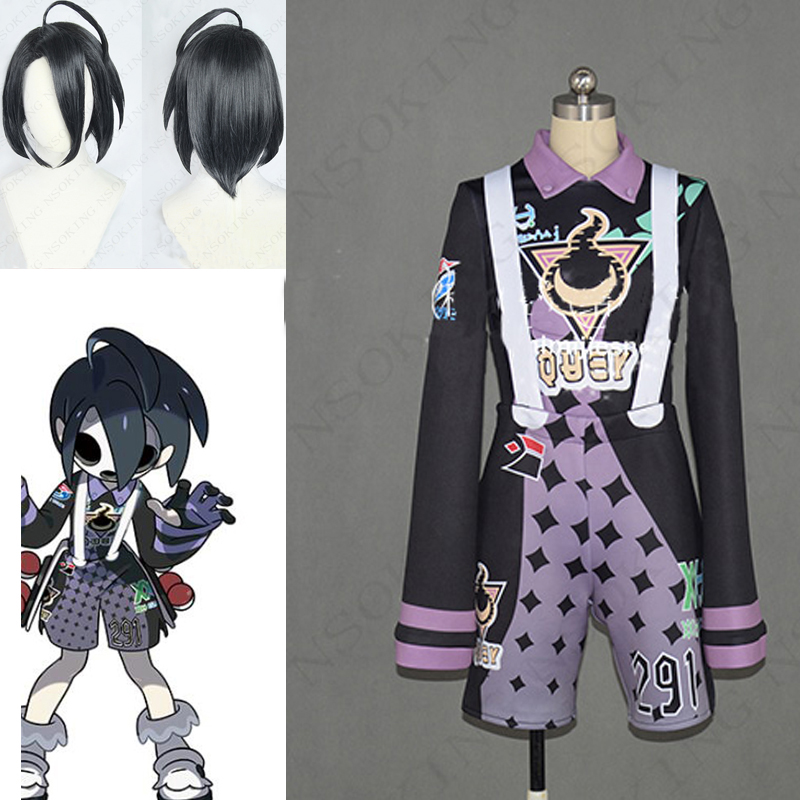 Anime Pokemon Sword Shield Leader Allister Cosplay Costume Custom-made