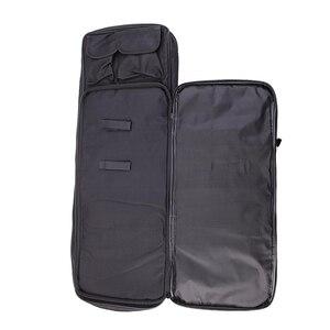 Image 4 - Taktik tüfek aksesuarları Airsoft tüfek tabanca kılıfı av çanta naylon silah kılıf omuz sırt çantası 3 boyutu