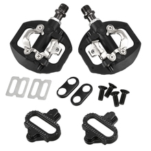 Bicycle Pedal MTB Bike Self-Locking SPD Pedal Clipless Pedal Platform Adapters for Shimano Spd Looking Keo System bicycle pedal mtb bike self locking spd pedal clipless pedal platform adapters for shimano spd looking keo system accessories