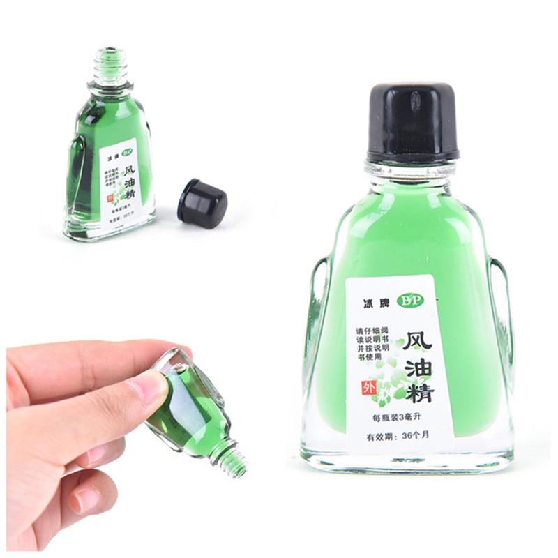 Balm Refreshing Oil For Headache Dizziness Medicated Oil Rheumatism Pain Abdominal Pain Fengyoujing 3ml