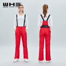 Ski-Trousers Snow Waterproof Winter WHS Women And Outdoor Breathable Female Sports Hot