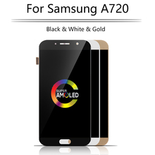 Original 5.7'' LCD For SAMSUNG GALAXY A7 2017 LCD Display Touch Screen Digitizer Assembly Replacement A7 A720 A720F LCD Screen new original tm104sdh01 ts104saalc01 00 lcd led lcd screen