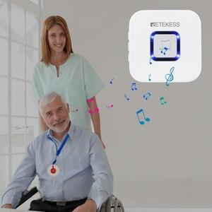Image 2 - RETEKESS Senza Fili Sistema di Chiamata Pager Infermiera Medica di Avviso di Chiamata Paziente Sistema di Aiuto Per La Casa di Cura/ospedale Pulsante di Chiamata/ricevitore