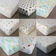 100% Cotton Baby Beddings Mattress Cover Cartoon Newborn Bed