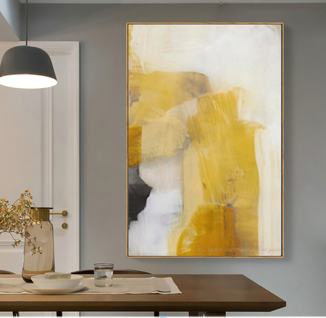 Laminas decorativas pared cuadros duvar sanatı tuval Vintage boyama pinturas decorativas abstracto boyama oturma odası için büyük