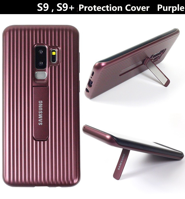 Galaxy S9 Plus Case PC+TPU 2IN1 Stand Shock-Proof Heavy Duty Protective Cover For S9/S9+