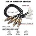 4 Pack UP/Downstream Auto Sauerstoff O2 Sensor Vorne Hinten für Ford Mercury Grand Marquis Lincoln Navigator
