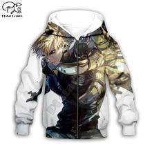 Черные 3d толстовки с аниме героями пальто на молнии пуловер