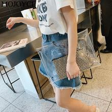 Simple Transparent PVC Envelope Clutch Clear Evening Party Handbag Women Fashion Creative Purse New Ladies Girls Shopping