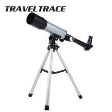 360/50mm Zoom HD Outdoor Monocular Space Astronomical Telescope With Portable Tripod Spotting Scope Telescopic High Quality стоимость