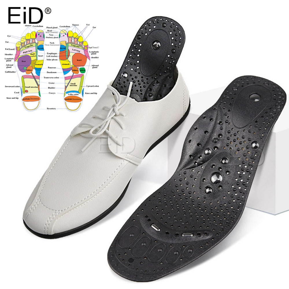 Orthopedic Premium Magnetic Therapy Magnet Health Care Foot Massage Insoles Unisex Shoe Comfort Pads Magnet Insoles Women Man