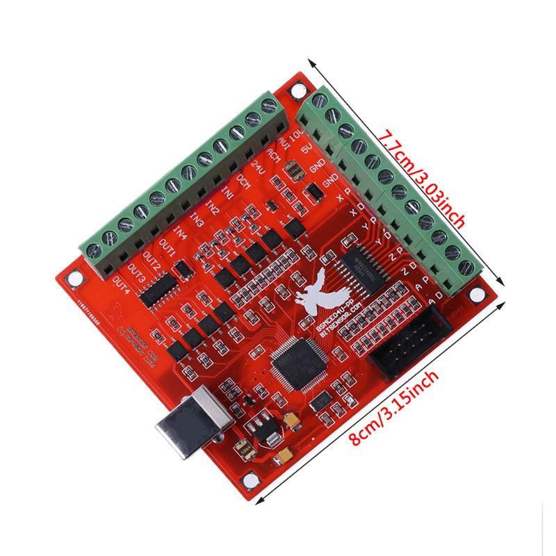 Image 4 - CNC USB MACH3 100Khz Breakout Board 4 Axis Interface Driver Motion Controllerbreakout boardcnc usb mach34 axis -