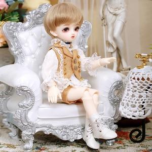 Image 3 - New Arrival Littlemonica Blossom Lucile 1/6 Resin Body Model Boys High Quality Toys Girls Birthday Xmas Gifts BJD SD