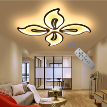 Bedroom Light Ceiling-Chandelier Remote-Control LED 240V AC Modern Study Smooth-Dimming-Function