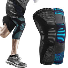 SKDK Gym Knee Pads Sports Safety Fitness Kneepad Elastic Knee Brace Support Gear Patella Running Basketball Volleyball Tennis