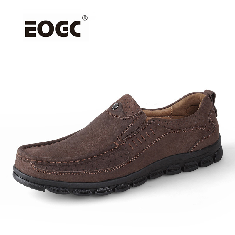 Cuir véritable hommes chaussures plates mode hommes mocassins, hommes faits à la main chaussures décontractées, mocassins pour hommes Zapatos Hombre livraison directe