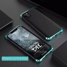 Durable Metal and ABS Phone Case Metal ABS Protector Cellphone Back Protective Cover For IPhone 11 Pro Max!(China)