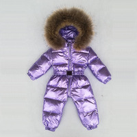 2020 Baby Winter Snowsuit Boy Baby Jacket 80% Duck Down Outdoor Infant Boys Kids Jumpsuit baby Girls Clothes fashion snow wear