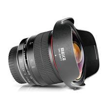 Meike 8 мм f/3,5 Ультра Широкий Рыбий глаз объектив для всех Canon EOS EF крепление DSLR камеры с APS-C/полная рамка+ Бесплатный подарок