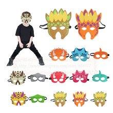 Dinosaur Costumes Masks  Boys and Girls Dino triceratops tyrannosaurus birthday party decorations stegosaurus halloween costume