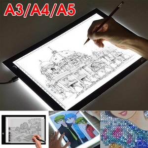 A3 A4 A5 Graphics Tablet LED Drawing Tab