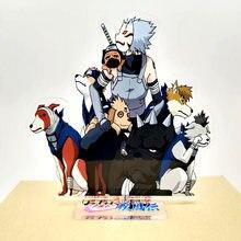 Kakashi hatake summoning ninken dogs pakkun bull urushi shaba