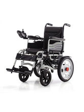 Large Wheel Portable Folding Electric Wheelchair、 Handicap Scooter For The Disabled And The Elderly(China)