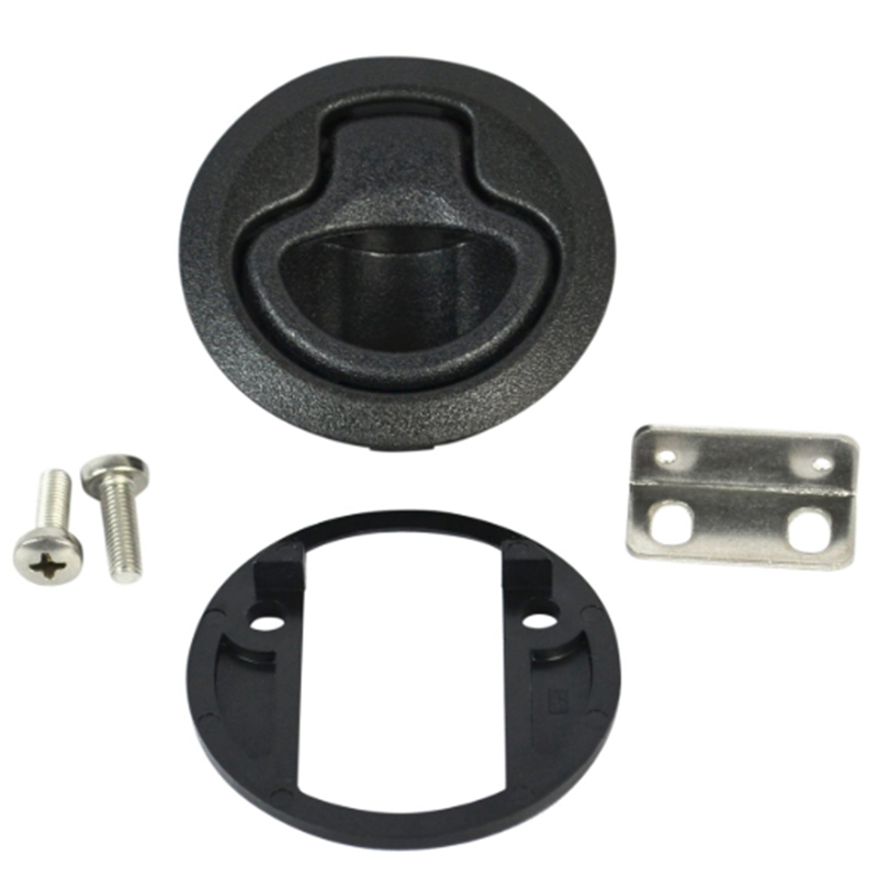 2Pcs Round Pull Latch For 1 / 2 Inch Door Replace Southco M1 - 63 Rv Marine Boat 2 3 / 10 Cm D