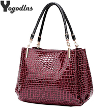 Designer Bags Famous Brand Women Bags Fashion Handbag New Leather Bag Large Capacity Shoulder Bags Casual Crocodile Pattern Tote