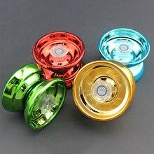 Yo Yo Ball en alliage d'aluminium pour enfants, jouet amusant, classique, à la mode, 4 couleurs, professionnel, nouveauté, axe Y rotatif, 1 pièce