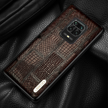 Genuine Leather Case for Xiaomi Redmi Note 9 Pro 9S Note 8 Pro 8T 7 Retro Cover For Mi 10 Ultra 8 9 9T Pro A3 Note 10 Poco X3 F2