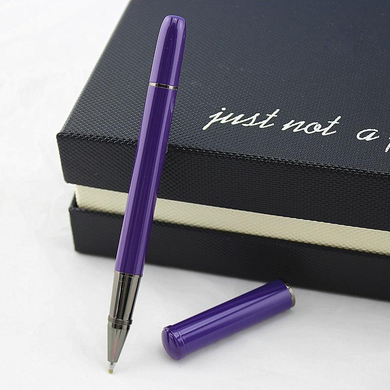 0.5mm Metal Roller Ball Pen Luxury Ballpoint Pen For Business Writing Gift Office School Supplies Student