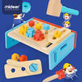 MiDeer bébé semblant jouer jouets Simulation réparation outils en bois éducation 3Y + garçon et filles multi outils Table