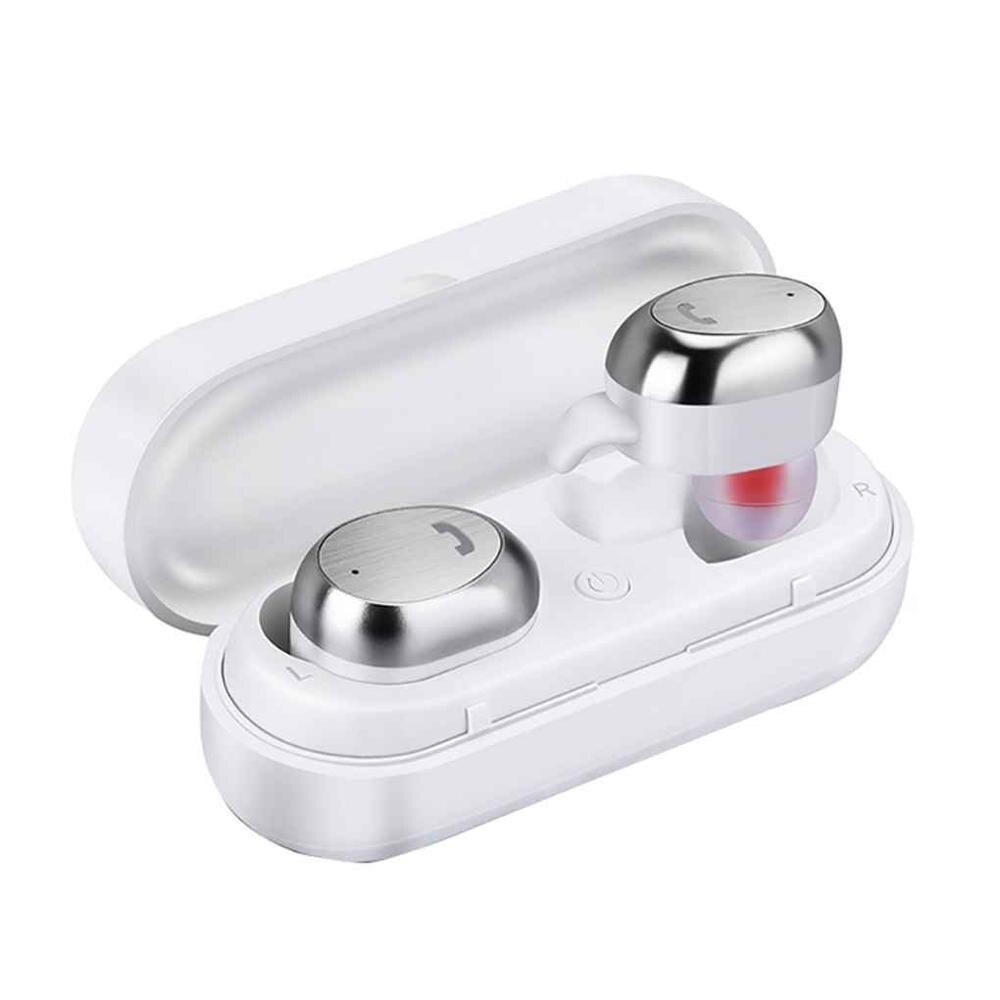 TWS sans fil Bluetooth écouteur Mini casque V4.2 stéréo écouteurs sport mains libres pour téléphone Skype camion pilote Center d'appel
