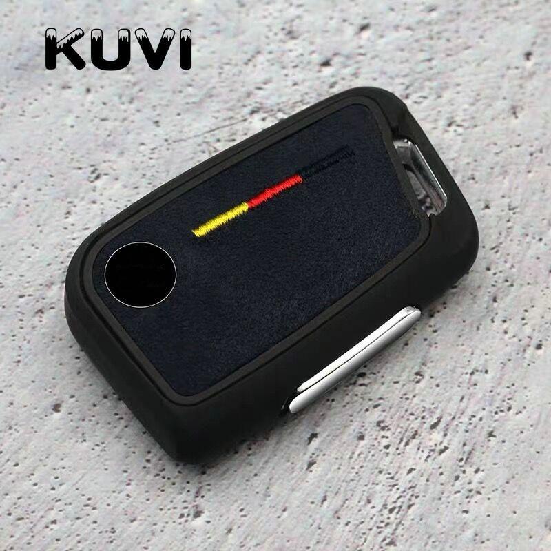 2019 camurca tpu caso chave do carro capa remota para volkswagen vw 2016 2017 passat b8