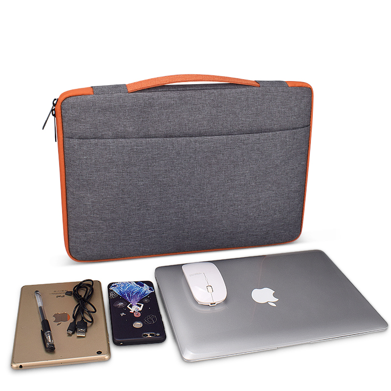 Multi-functional Unisex Portable Laptop Sleeve Case Bag for Macbook Acer HP Dell